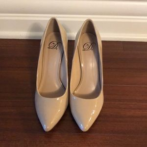 Brand new condition pleather heels